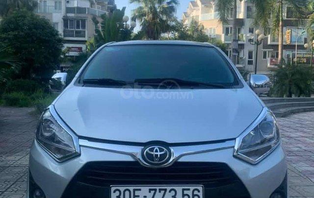 Cần bán xe Toyota Wigo đời 2019, màu bạc0