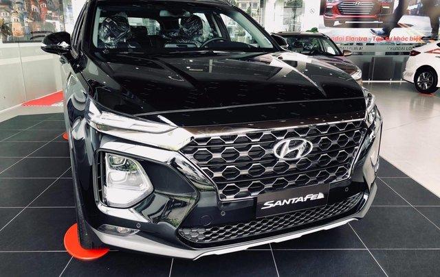 [TP HCM] Hyundai Santafe dầu cao cấp 2020 tặng 100% thuế trước bạ và kèm theo phụ kiện hấp dẫn, xe đủ màu giao ngay0