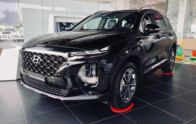 [TP HCM] Hyundai Santafe dầu cao cấp 2020 tặng 100% thuế trước bạ và kèm theo phụ kiện hấp dẫn, xe đủ màu giao ngay4