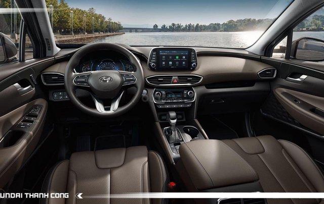 [TP HCM] Hyundai Santafe dầu cao cấp 2020 tặng 100% thuế trước bạ và kèm theo phụ kiện hấp dẫn, xe đủ màu giao ngay9