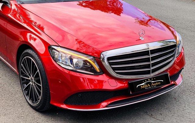 Bán Mercedes C200 Exclusive đỏ, sản xuất 2019, giá cả uy tín2