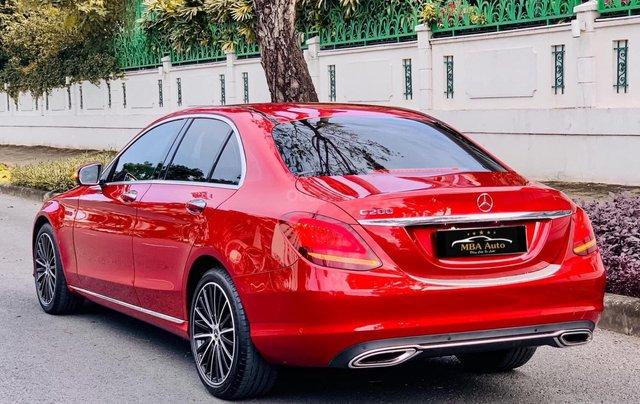 Bán Mercedes C200 Exclusive đỏ, sản xuất 2019, giá cả uy tín4