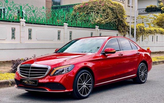 Bán Mercedes C200 Exclusive đỏ, sản xuất 2019, giá cả uy tín1