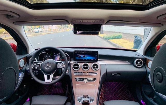 Bán Mercedes C200 Exclusive đỏ, sản xuất 2019, giá cả uy tín11