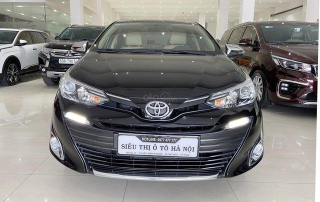 Bán xe Toyota Vios 1.5G 2018 màu đen, trả góp chỉ từ 176 triệu0