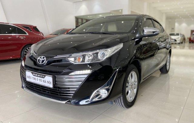 Bán xe Toyota Vios 1.5G 2018 màu đen, trả góp chỉ từ 176 triệu2