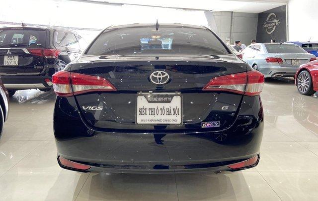 Bán xe Toyota Vios 1.5G 2018 màu đen, trả góp chỉ từ 176 triệu3