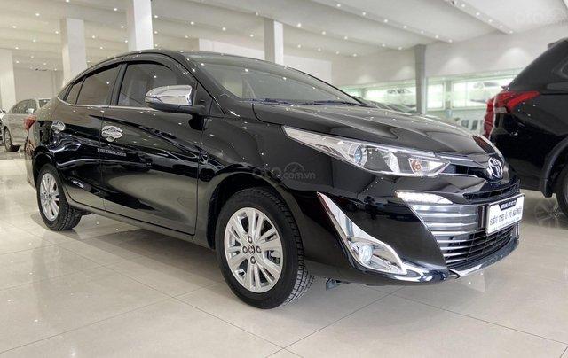 Bán xe Toyota Vios 1.5G 2018 màu đen, trả góp chỉ từ 176 triệu1