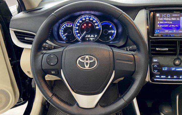 Bán xe Toyota Vios 1.5G 2018 màu đen, trả góp chỉ từ 176 triệu6