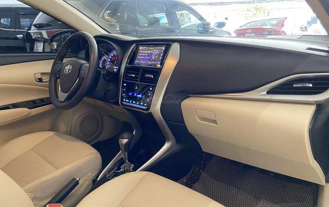 Bán xe Toyota Vios 1.5G 2018 màu đen, trả góp chỉ từ 176 triệu8