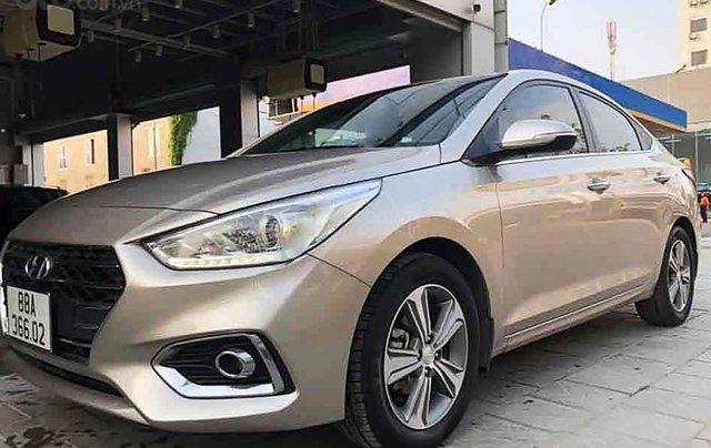 Bán ô tô Hyundai Accent sản xuất 2020, màu vàng, 546tr0