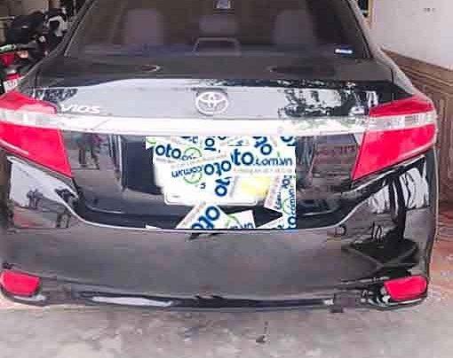 Bán Toyota Vios đời 2017, màu đen chính chủ2