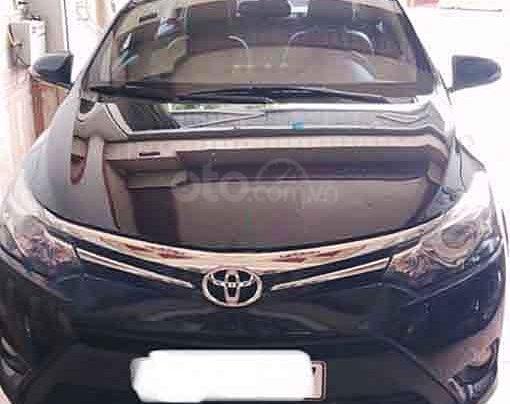 Bán Toyota Vios đời 2017, màu đen chính chủ0