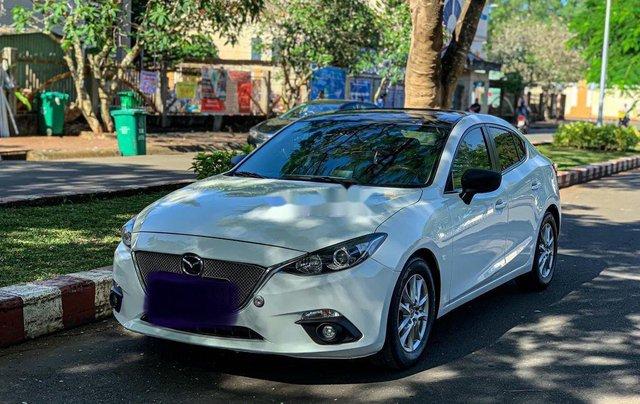 Cần bán Mazda 3 năm sản xuất 2015, màu trắng1