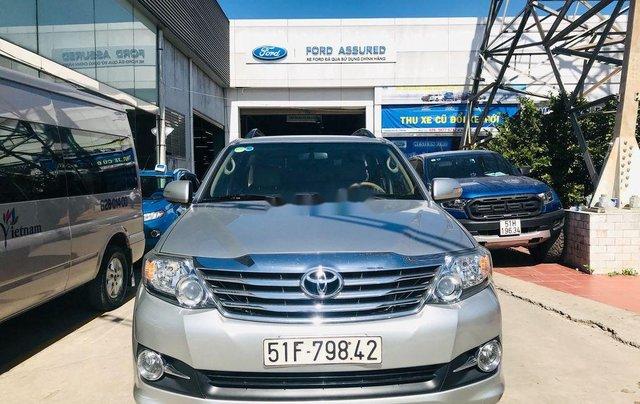 Cần bán lại xe Toyota Fortuner sản xuất năm 2016 còn mới0