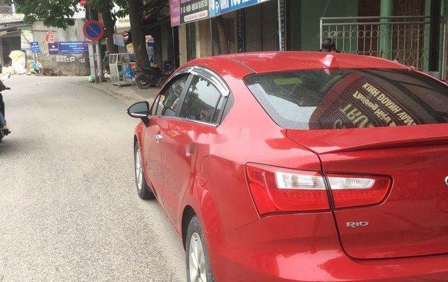 Cần bán Kia Rio đời 2015, màu đỏ, nhập khẩu chính chủ4