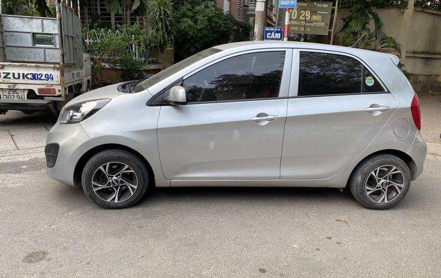 Cần bán Kia Morning Van sản xuất năm 2014, màu bạc, xe nhập, giá 236tr0