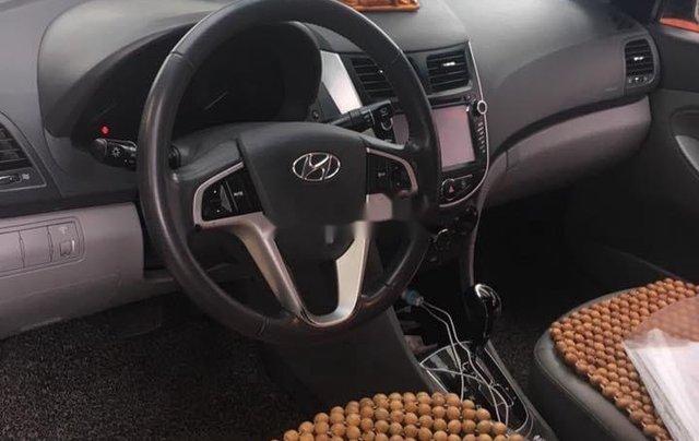 Gia đình bán Hyundai Accent đời 2011, màu nâu, xe nhập1