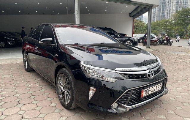 Bán ô tô Toyota Camry năm 2018, màu đen4