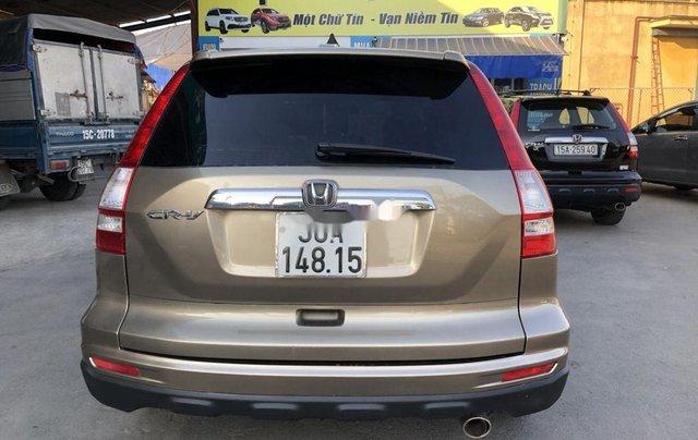 Bán xe Honda CR V đời 2010, màu vàng, giá tốt1