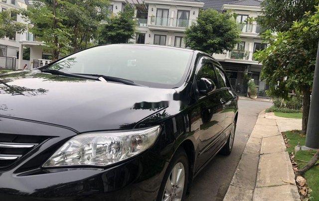 Cần bán lại xe Toyota Corolla Altis đời 2010, màu đen, nhập khẩu còn mới, 450tr2