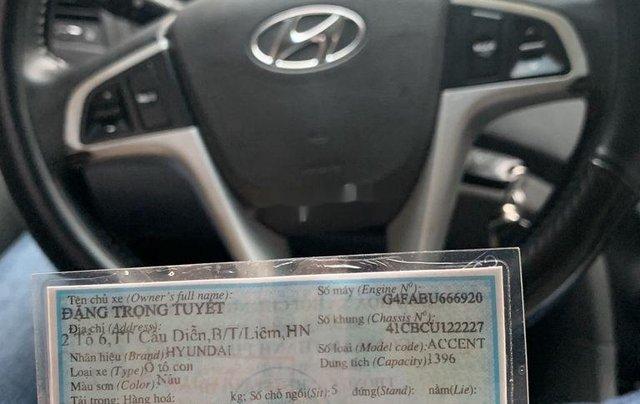 Gia đình bán Hyundai Accent đời 2011, màu nâu, xe nhập2