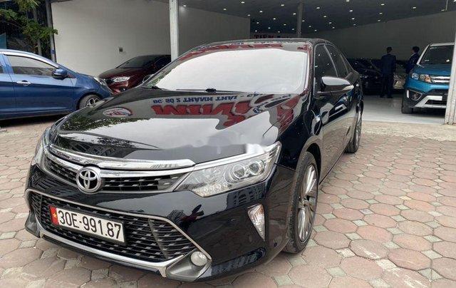 Bán ô tô Toyota Camry năm 2018, màu đen1