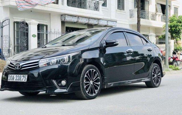 Cần bán gấp Toyota Corolla Altis đời 2014, màu đen còn mới6