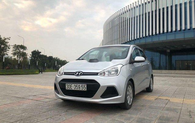 Cần bán xe Hyundai Grand i10 đời 2016, màu bạc, nhập khẩu chính chủ0