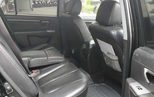Cần bán xe Hyundai Santa Fe đời 2011, màu đen, nhập khẩu6