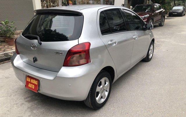 Xe Toyota Yaris sản xuất 2007, màu bạc, xe nhập2
