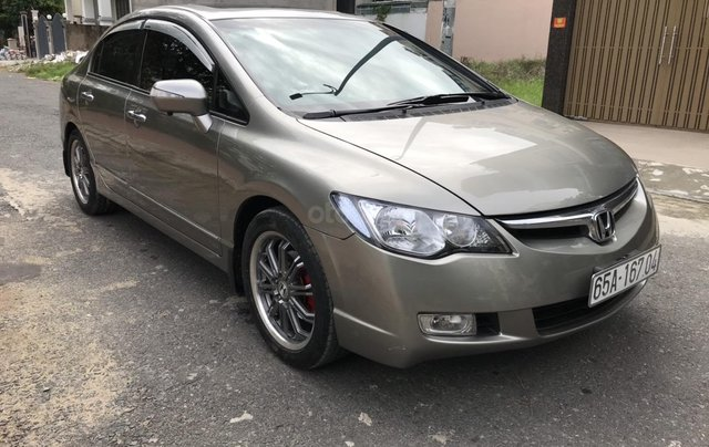 Xe Honda Civic 2.0 AT 2008 xám, tự động, 5 chỗ1