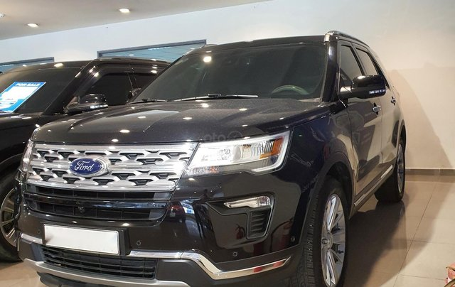 Ford Explore 2019 nhập USA2