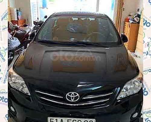 Cần bán Toyota Corolla Altis sản xuất năm 2013, màu đen như mới, 545 triệu0