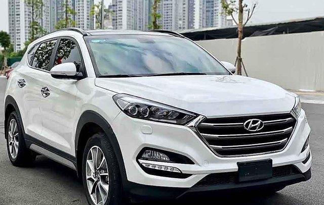 Cần bán xe Hyundai Tucson đời 2019, màu trắng, giá chỉ 835 triệu4