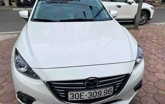Bán xe Mazda 3 đời 2015, màu trắng chính chủ2