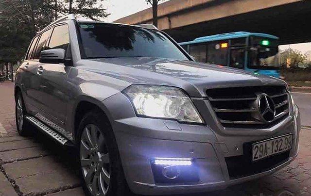 Cần bán gấp Mercedes GLK 300 sản xuất 2009, màu bạc chính chủ1
