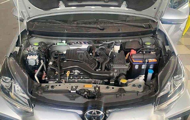 Bán Toyota Wigo đời 2020, màu bạc, xe nhập số tự động, giá 345tr3