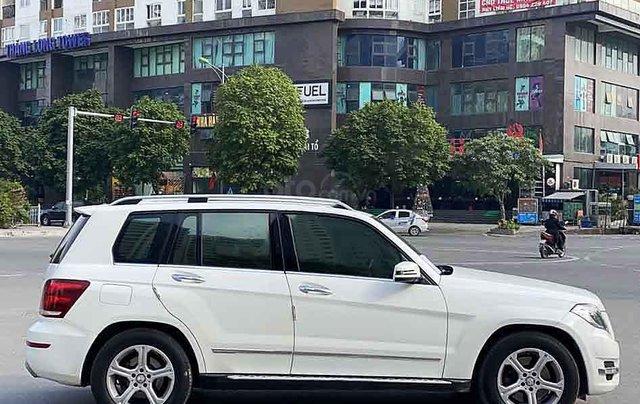 Cần bán xe Mercedes GLK  220 CDI năm 2013, màu trắng, nhập khẩu  2