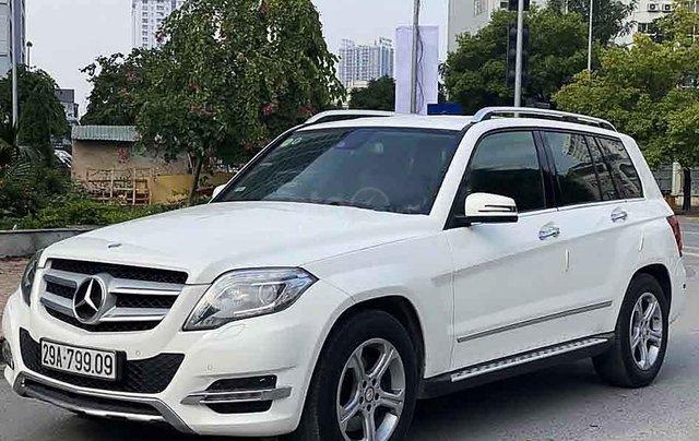 Cần bán xe Mercedes GLK  220 CDI năm 2013, màu trắng, nhập khẩu  0