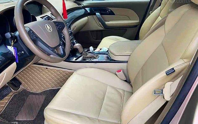Bán ô tô Acura MDX sản xuất 2007, màu vàng, xe nhập  3