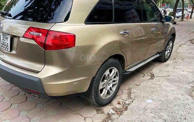 Bán ô tô Acura MDX sản xuất 2007, màu vàng, xe nhập  1