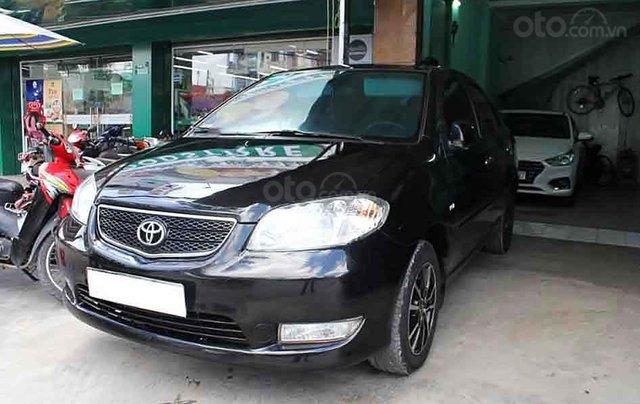 Cần bán lại xe Toyota Vios sản xuất năm 2005, màu đen số sàn0