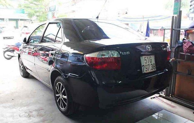 Cần bán lại xe Toyota Vios sản xuất năm 2005, màu đen số sàn2