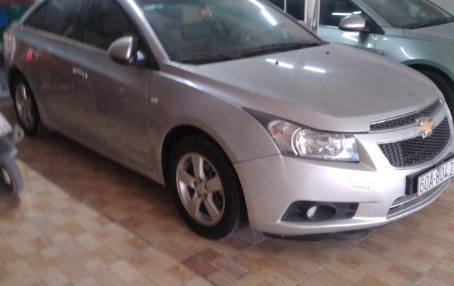 Bán ô tô Chevrolet Cruze năm 2014, màu bạc xe gia đình1