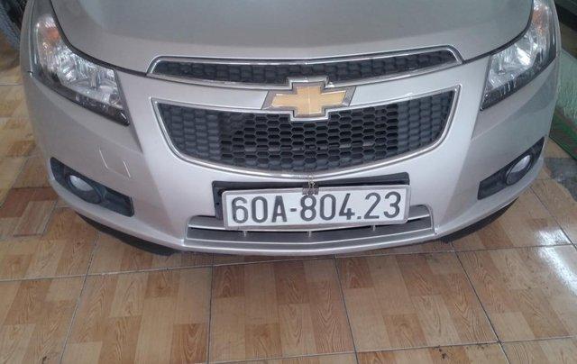 Bán ô tô Chevrolet Cruze năm 2014, màu bạc xe gia đình0