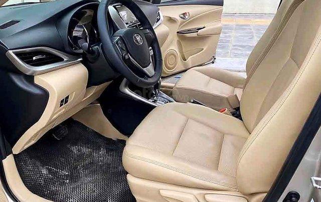 Bán xe Toyota Vios năm sản xuất 2019, màu vàng cát1
