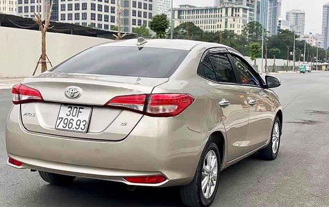 Bán xe Toyota Vios năm sản xuất 2019, màu vàng cát3
