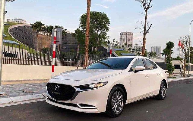 Bán ô tô Mazda 3 1.5Luxury sản xuất 2020, màu trắng  0