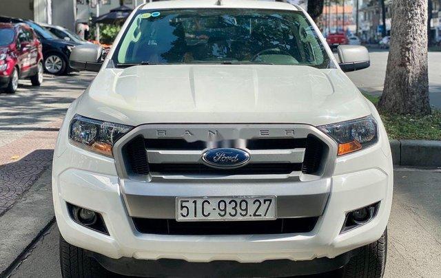 Cần bán lại xe Ford Ranger sản xuất năm 2017, màu trắng1